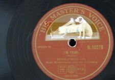 78rpm EDDIE FISHER i`m yours / that`s the chance you take