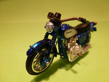 POLISTIL POLITOYS KAWASAKI MOTOR CYCLE- BLUE 1:24? - VERY GOOD CONDITION