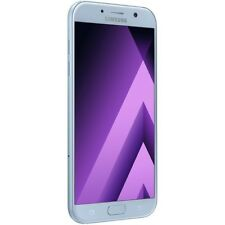 SAMSUNG Galaxy A7 (2017) A720FD DUAL SIM 4 G LTE 32 GB Sbloccato Foschia AZZURRA!