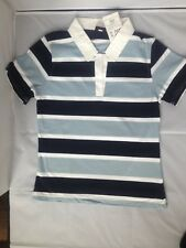 Childrens Kids Rugby Classic Short Sleeved Cotton Sport Shirt Jersey Top Size 12