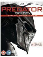 Predator Trilogy [Blu-ray] [1987] [DVD][Region 2]