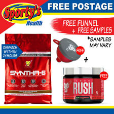 BSN SYNTHA-6 10LB 97 SERVES CHOCOLATE WHEY PROTEIN BLEND FREE POSTAGE
