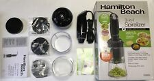 Hamilton Beach 3-in-1 Spiralizer Speed Electric Slicer Create Healthy Meals