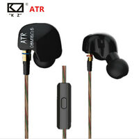 KZ ATR Super Bass Earphone HIFI Stereo Headphones Sport Running Headset With Mic