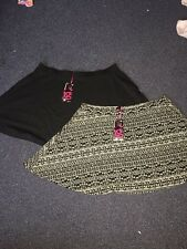 Pack of 2 pull on skirts size 20