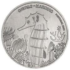 Portugal 5 Euro 2021 - Bedrohte Tierarten (5.) - Seepferdchen - Kupfer-Nickel ST