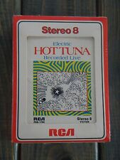 Hot Tuna~ Electric FACTORY SEALED 8-Track~ Recorded Live