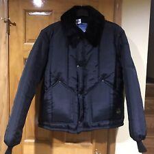 RefrigiWear Men's Insulated Iron-Tuff Artic Jacket with Soft Fleece Collar Sz XL