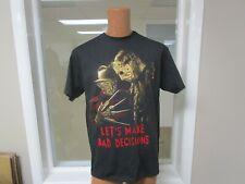 Freddy Vs Jason Let'S Make Bad Decisions T Shirt Medium