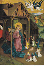 Johann Koerbecke The Birth of Christ Postcard used VGC x