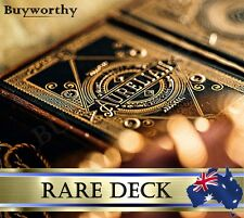 Aurelian Roman Playing Cards Premium Deck Gold-Standard Stock Embossed Case Rare