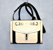NWT GUESS Kingsley Stone Multi Faux Gold HW Leather Crossbody Satchel Bag $128