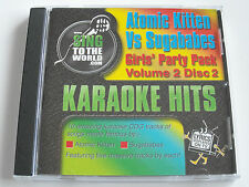 Atomic kitten Vs Sugababes Vol. 2 - Karaoke Hits (CD+G Album) Used Very Good