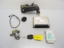BMW Z3 2.2i 170hp Manual M54B22 Engine ECU & EWS Lock Set 1 Key 7519308 #039