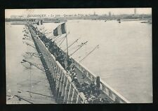France Pas-de-Calais DUNKERQUE Fishing from jetty c1900/20s? PPC