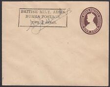 BURMA, 1945. Japan Post-Occupation Envelope I15c, Mint
