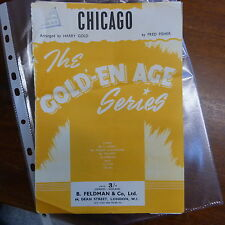 combo / dance band parts CHICAGO / harry gold arr #2