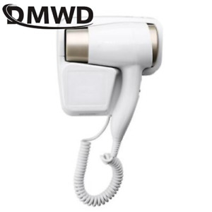 DMWD Hot/Cold Wind Blow Hair Dryer Electric Wall Mount Hairdryers Hotel Bathroom