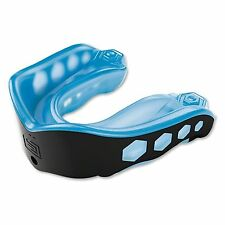 Shock Doctor Gel Max Mouth Guard Gum Piece Convertible - Blue/Black - Youth