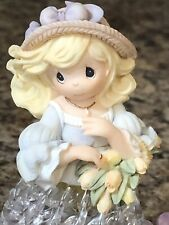 Precious Moments Four Seasons Belles Spring Belle Spun Glass #104551 New In Box