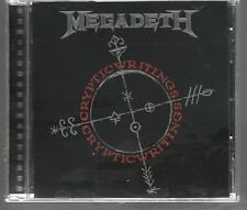 MEGADETH CRYPTIC WRITINGS CD CAPITOL NUOVO!!!