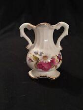 Vintage Flambro Summer Rose Fine Bone China Small Vase-See Pics
