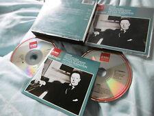 CHOPIN CONCERTOS PIANO 19 NOCTURNES RUBINSTEIN BARBIROLLI 2 CD ALBUM EMI CLASSIC