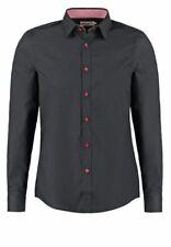 7# PIER ONE CONTRAST BUTTON SLIMFIT - Shirt Size Medium RRP £21.99