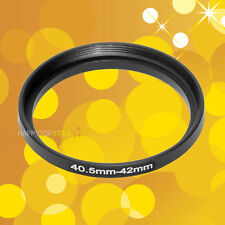 40.5mm to 42mm 40.5-42 mm Male to Female Step-Up Lens Coupling Ring Adapter