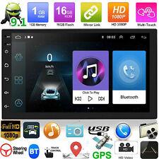 Quad Core Android 7.1 7''Car Radio estéreo Doble 2DIN GPS MP3 MP5 Player Navi BT
