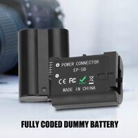 NP-FW50 DC Acoplador AC-PW20 Maniquí Batería Para Sony A65 A77 a7 A7s A3 NEX-5 6 7