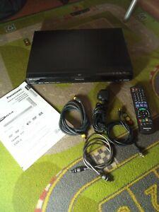 Panasonic DMR-EX77EB-K DVD Multi-Format Recorder  HDMI/Remote/Manual in ex con