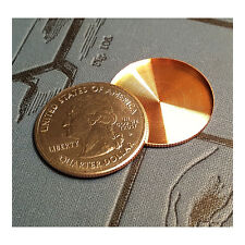 Expanded Shell US Quarter - Head Side from Real US Coin - Precision Magic Trick