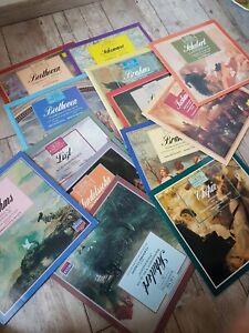 Große Komponisten und ihre Musik 13 LP's