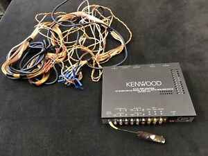 Kenwood 5.1CH Car Amp - With Wiring