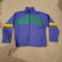 Mens large vtg 90s JC Penny team usa olympic windbreaker jacket