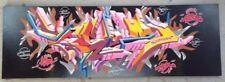 SEUM-ONE - graffiti signé sur toile - cope2/seen/taki/quik/crash/rd357/pro 176