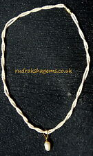 FRESH WATER PEARL GORGEOUS NECKLACE PENDANT FOR COOLING & SOOTHING EFFECTS