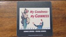 MY GOODNESS MY GUINNESS! vintage design drinks coaster COLLECTABLE *FREE P&P*