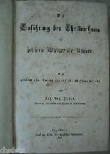 Fischer: Einführung des Christentums im jetzigen Königreiche Bayern. 1863