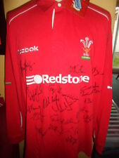 Wales Squad Signed World Cup 2003 Rugby Union Home Shirt BNWT COA