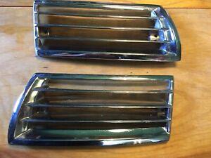 porsche 911 912 horn grilles SWB 67-68 2hole original matched pair L&R