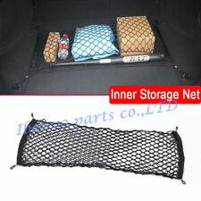 Single Mesh Car Trunk Ground Cargo Storage Hook Catcher Bag Net Tool Accessories