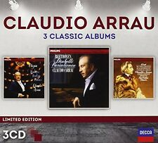 Claudio Arrau - Three Classic Albums [New CD]