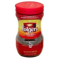 Folgers Classic Roast INSTANT Coffee 226g 8oz (American)- PACK OF 6