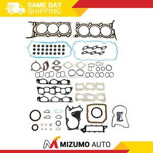 Full Gasket Set Fit 09-11 Kia Borrego Hyundai Genesis 3.8L DOHC G6DA G6DB
