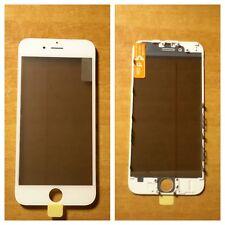 NUOVO vetro + frame + oca + polarizer 4 in 1 display iphone 6 bianco