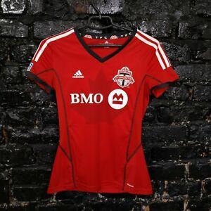 Toronto FC Jersey Home football shirt 2013-2014 Red Adidas Z12058 Womens Size S