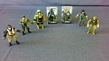 LOT OF 7 S.W.A.T COUNTER STRIKE SOLDIER FIGURES, 2 NEW & 5 PRE OWNED