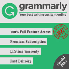 🔥Grammarly Premium 🔥Lifetime account with Lifetime Warranty 🔥 FAST DELIVERY🔥